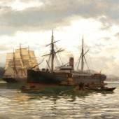 Sammlung Marinemalerei u.a. Lot 870 Eckenbrecher, Karl Paul Th. Themistokles von 1842 Athen – 1921 Goslar Schätzpreis 2.000,- EUR