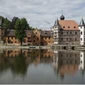 Jagdschloss Fröhliche Wiederkunft in Wolfersdorf-Trockenborn während der Restaurierung © Marie-Luise Preiss/Deutsche Stiftung Denkmalschutz