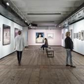 Ausstellungsansicht Elfie Semotan. Haltung und Pose, 2021, © KUNST HAUS WIEN, Foto: Rudolf Strobl