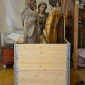 RAUS MIT DER KUNST! Verpackte Skulpturen aus den Kunstgeschichtlichen Sammlungen der Tiroler Landesmuseen  © TLM
