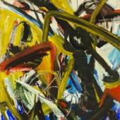 Helmut Sturm, o. T., 1990, Öl auf Leinwand, 155 x 125 cm