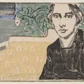 Margarethe Geibel Selbstporträt, 1912 Privatbesitz Foto: Frank Kleinbach, Stuttgart