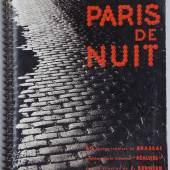 Brassai. Paris de nuit. 60 photos ... 1932. 2.500,- (Le Cadratin, Colmar)