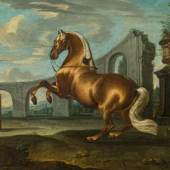 Johann Axtmann Pferd in Levade  Schätzpreis: 10 000 - 20 000 €