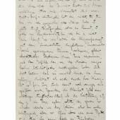 Brief von Franz Kafka an seinen engsten Freund Max Brod 125.000 Euro