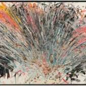 Arnulf Rainer* Eitler Vogel, 1981/82  Schätzpreis: 35 000 - 70 000 €