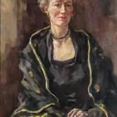 189 - Lotte Laserstein Porträt von Madeleine. 1953.  Katalogpreis: 8.000 - 10.000 €