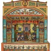94-1602Webb, London. Schätzpreis: 1.000,00 €<br/>    Papiertheater. Kleines englische Theater von W.Webb, London.