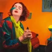 Frankfurter Privatsammlung gelangen sieben Arbeiten des 1961 in Chemnitz geborenen Photokünstlers Florian Merkel aus den 1990er Jahren zum Aufruf. Darunter «Dame mit Vögeln» (Abb. 94166/Limit 1.000 €),