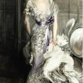 Lot 27 PROPERTY OF A PRIVATE COLLECTOR, FRANCE Giovanni Boldini PORTRAIT OF CELIA TOBIN CLARK signed Boldini (lower left) oil on canvas 86 5/8 by 47 1/2 in.; 220 by 120 cm Sold for $1,090,000