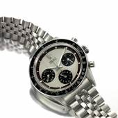 9593 A Rare Stainless Steel Chronograph Wristwatc…tona