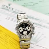 9593 Rolex, Stainless Steel Chronograph Wristwatch…ona