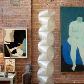 9678 Interior, Milton Avery's Meditation and Frederick Hammersley's Off the Cuff
