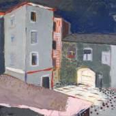 """053   Hans Kinder """"Alaunstraße Dresden"""". 1928. 6.000 €"""