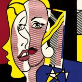 Property from a Private New York Collection Roy Lichtenstein Female Head Signed and dated 77 on the reverse Oil and magna on canvas 60 by 50 inches Estimate $10/15 million