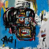 Jean Michel-Basquiat Untitled 1982 Oilstick, acrylic and spraypaint on can