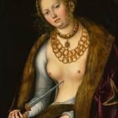 Lucas Cranach the Elder Lucretia Estimate $2/3 million