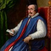 Diego Rodríguez de Silva y Velázquez Portrait Of Monsignor Cristoforo Segni Maggiordomo to Pope Innocent X Estimate $3/4 million