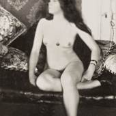 Lot 132 E. J. Bellocq Storyville Prostitute, New Orleans framed, circa 1912, printed no later than 1949 8 by 5 in. (20.3 by 12.7 cm.) Estimate $50/70,000