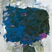 Lot 120 Joan Mitchell Untitled oil on canvas 63 3/4 by 44 3/4 in. 169.5 by 113.7 cm. Executed circa 1964 Estimate $1.8/2.5 million Sold for $2,535,000