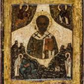245 - Hl. Nikolaus von Myra   Russland, 16. Jh. Katalogpreis: 13.000 - 16.000 €