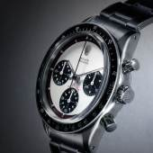 Lot 312 Various Owners Rolex A Rare Stainless Steel Chronograph Wristwatch With Registers And Bracelet Ref 6241 Case 1764815 'Paul Newman' Cosmograph Daytona Circa 1967 Estimate $100/200,000 Sold for $200,000