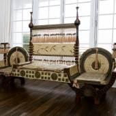 Carlo Bugatti Banquette circa 1900 Estimate $80/120,000