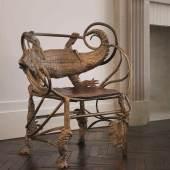 "Claude Lalanne ""Crocodile"" Armchair 2005 Estimate $500/700,000"