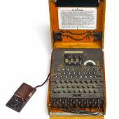 A Fully Operational Three-Roter Enigma I Cipher Machine Estimate $180/200,000