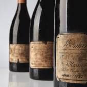 9921 Lots 89, 90 & 91 Romanée Conti 1937