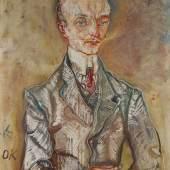 Oskar Kokoschka Joseph de Montesquiou-Fezensac Painted in 1910. Estimate $15/20 million