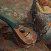 137 Paul Gauguin, Sur une chaise, Oil on canvas $807,000 (£625,145) $700,000 - 1,000,000