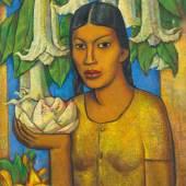 Alfredo Ramos Martínez La India de los floripondios circa 1932 Estimate $800/1.2 million Sold for $ 1.2 million