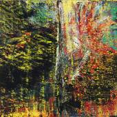 Gerhard Richter Abstraktes Bild numbered 636 TEIL A on the reverse of the right panel; signed, dated 1987, and numbered TEIL B on the reverse of the left panel oil on canvas 2 panels, each: 102⅜ by 78⅞ in. | 260 by 200.5 cm. overall: 102⅜ by 157¾ in. | 260 by 401 cm.Estimate in the region of $30 million