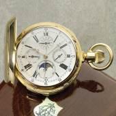 Katalog Nr. 417* Louis Audemars, Les Brassus zugeschr., Werk Nr. 9611, Geh. Nr. 80789, 52 mm, 170 g, circa 1865 Schätzpreis  40.000 - 60.00