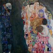 Gustav Klimt, Tod und Leben, 1910/15 © Leopold Museum, Wien