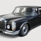 Mercedes Benz 600 , W 100, Baujahr 1969, Rufpreis € 20.000, Schätzwert € 62.000 - 74.000