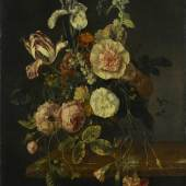 Jacob van Walscapelle, Still life with flowers, c. 1670-1727