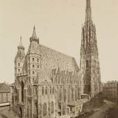 Stephanskirche, Ende 19. Jahrhundert Oscar Kramer Copyright: Wien Museum
