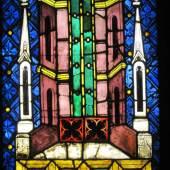 Glasscheibe aus dem Chor von St. Stephan, um 1340 Copyright: Wien Museum