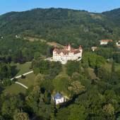 Schloss, Park und Pavillon  Foto: Universalmuseum Joanneum / zepp®cam.at 2010/Graz, Austria