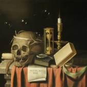 Fans van Everbroeck  Memento Mori | Öl auf Leinwand  58,5 x 76,5cm  Ergebnis: 17.500 Euro