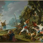 Filippo Falciatore Piratenüberfall, um 1735/40
