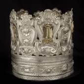Tora-Krone, 1796 Teilw. versilbert © Sammlung der Jüdischen Gemeinde Venedig
