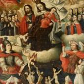 Schule von Cusco  Gnadenmadonna mit Fegefeuerdarstellung | Öl auf Leinwand 118 x 93cm  Ergebnis: 30.000 Euro
