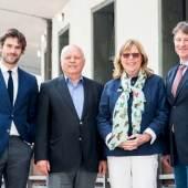 V.l.n.r. Maximilan Lerch, Andreas Ramer, Margarethe Pachmann, Martin Puch