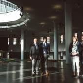 Voller Vorfreude auf die anstehenden Messetage: v.l.n.r. Andreas Ramer, Maximilan Lerch, Margarethe Pachmann, Martin Puch