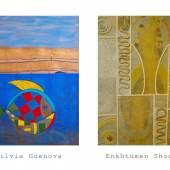 """""""Verführungen"""" in der Josefstadt! Die Galerie Sandpeck Wien 8 zeigt  Silvia Guenova und Enkhtumen Showkh mit """"Verführungen"""" am Sonntag 2.6. um 18 Uhr in der Florianigasse 75, Ecke Uhlplatz."""