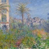 Claude Monet, Villen in Bordighera, 1884, Öl auf Leinwand, Privatsammlung.