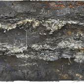 Anselm Kiefer, Des Meeres und der Liebe Wellen, 2018-2019. Emulsion, oil, acrylic and lead on canvas on wood. 190 x 380 x 40 cm (74.8 x 149.61 x 15.75 in).